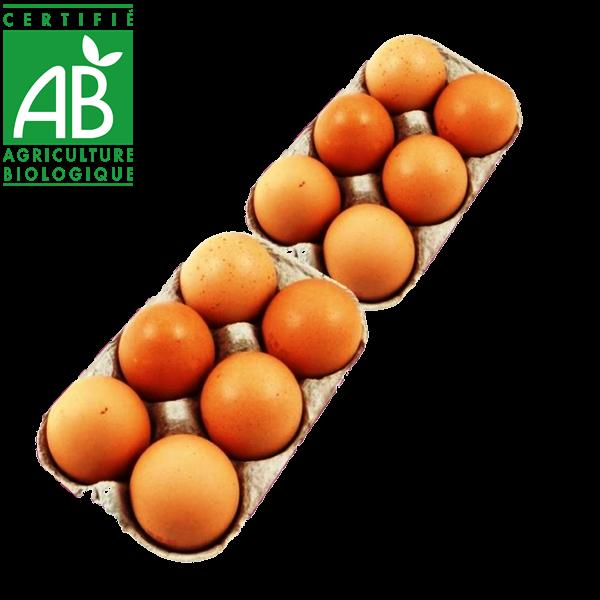 œufs bio fermiers en vente directe drive local Massiac