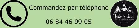 commande par téléphone drive au fermier en Auvergne