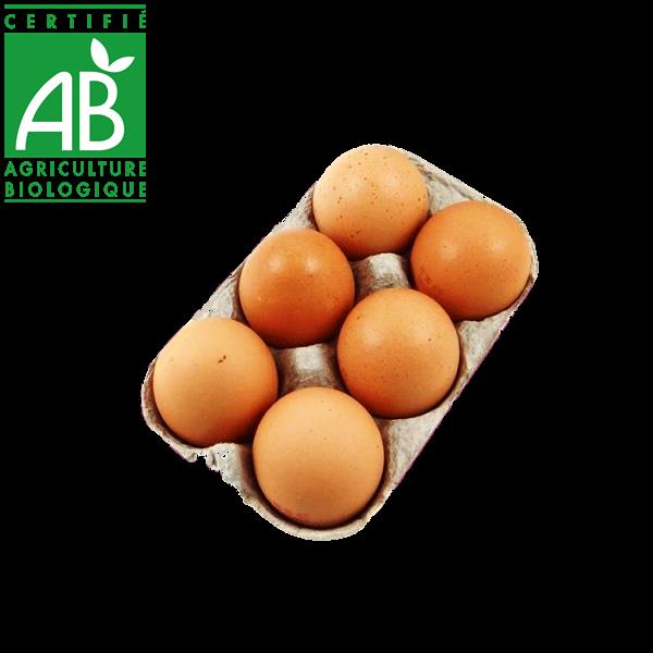 œufs bio fermiers en vente directe drive fermier Massiac