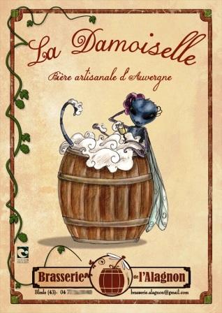 La Damoiselle : bière artisanale de Blesle en Auvergne