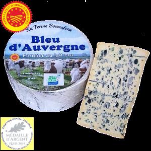Bleu d'Auvergne AOP vente directe Ferme Bonnafoux