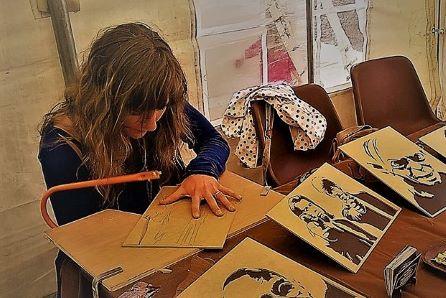 Atelier Broc'n'Brol : créations de Carole-Anne en bois recyclé