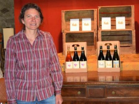 Cidre du Cantal : Caroline Leroy Auvergne