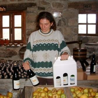 Cidre d'Auvergne de Caroline Leroy