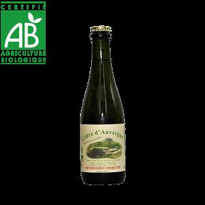 Cidre bio du Cantal en Auvergne produit par Caroline Leroy