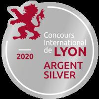Bière blonde Milvus Auvergne médaille d'argent 2020