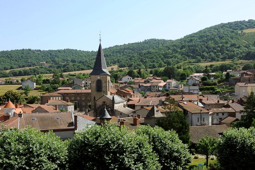 Massiac en Auvergne est un Village étape de l'A 75