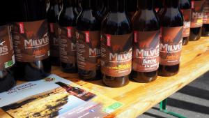 Bières bio La Milvus - brasserie des Estives