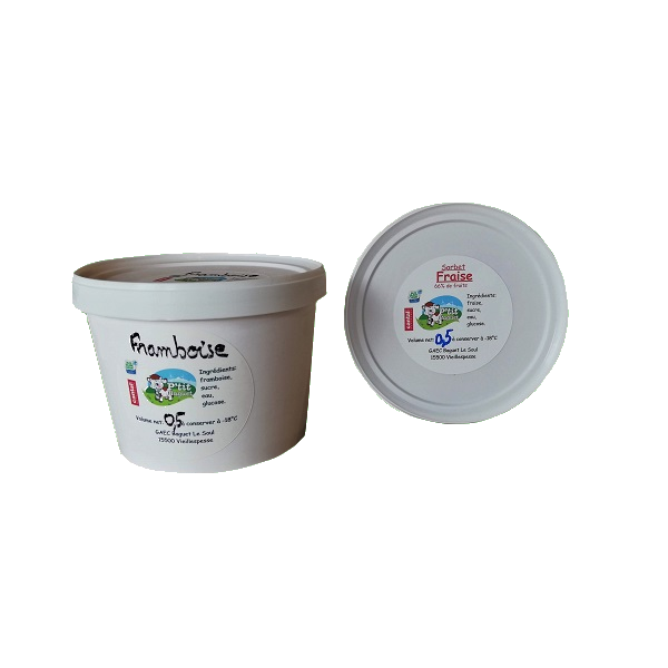sorbet fabriqué à la ferme en Auvergne