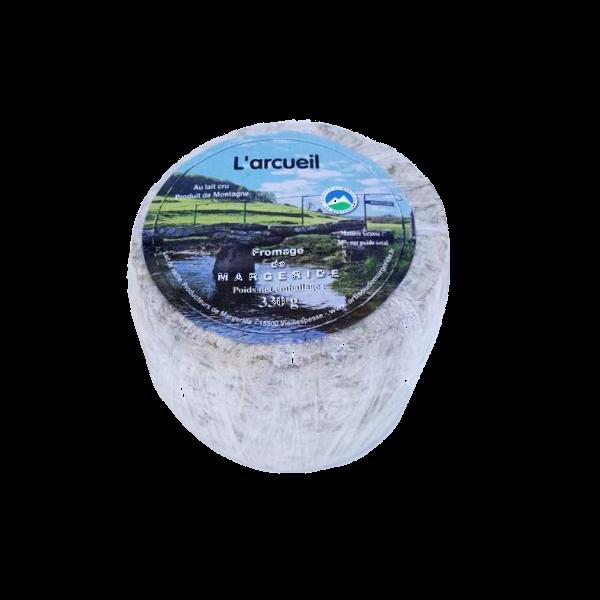 L'Arcueil : fromage fermier au lait cru fabriqué par la ferme Bonnafoux