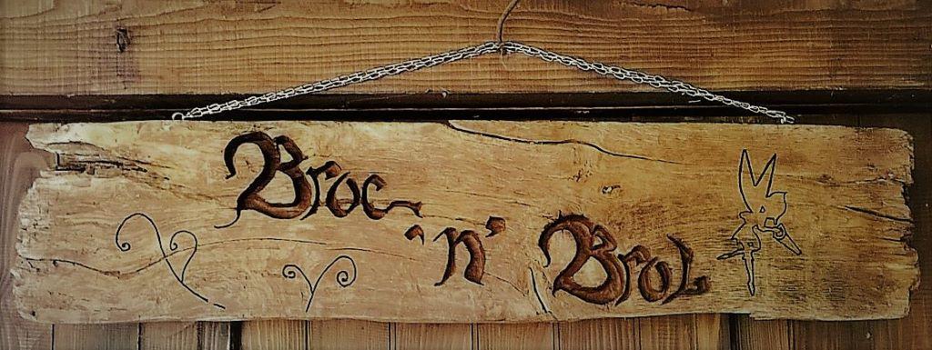 Atelier Broc'n'Brol : créations de Carole-Anne en bois récupéré