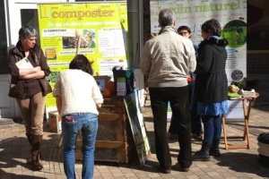 Atelier de compostage du SYTEC