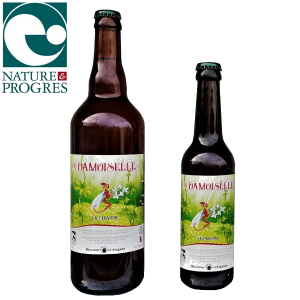 Bière artisanale bio à l'aspérule odorante et brassée en Auvergne