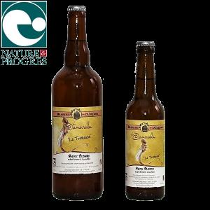 Bière blonde tourbée brassée par la brasserie de l'Alagnon - Auvergne