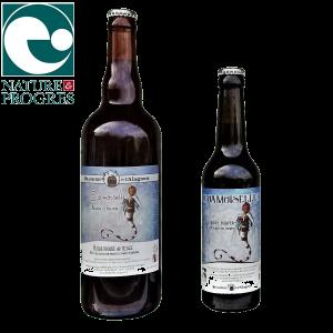 Bière artisanale bio d'hiver La Damoiselle brassée en Auvergne