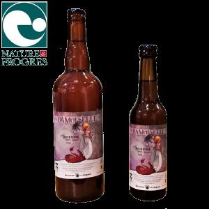 Bière artisanale bio Triple brassée en Auvergne La Sournoise