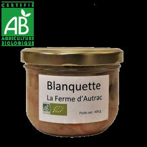 Conserve de blanquette de veau bio fermier d'Auvergne