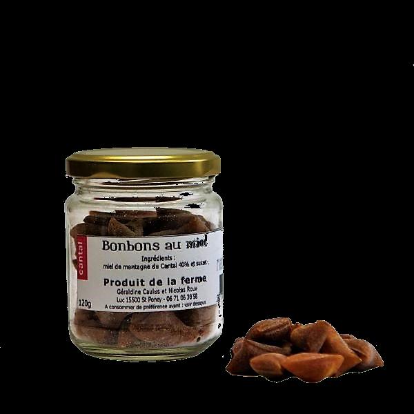 Bonbons au miel - Miellerie Natur'Ailes - Cantal Auvergne