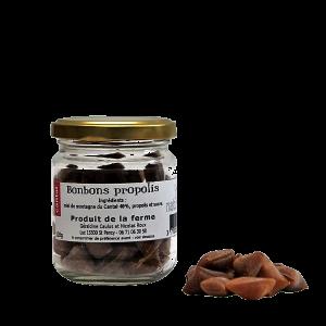 Bonbons au propolis et miel - Miellerie Natur'Ailes - Cantal Auvergne