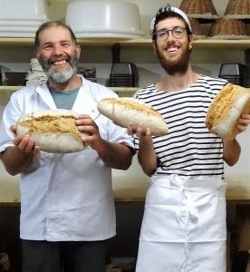 Fermiers-boulangers de la ferme des Coqs'Licots en Auvergne