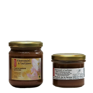 Pâte à tartiner chocolat et miel - Miellerie Natur'Ailes - Cantal Auvergne