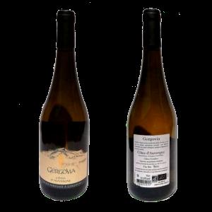 Vin blanc bio AOC Côtes d'Auvergne Gergovia