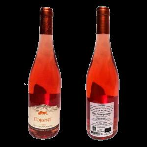 Vin rosé bio AOC Côtes d'Auvergne Luern - Gilles persilier