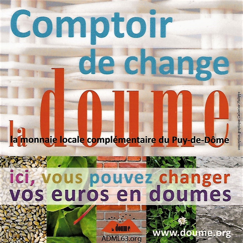 Comptoir pour échanger des euros en doumes