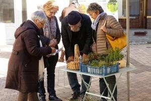 échange de graines pour jardinier