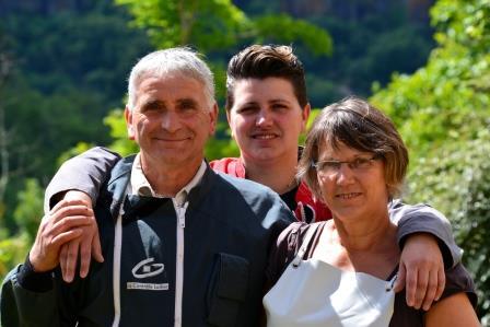 famille Douix : GAEC la clef des champs à Blesle