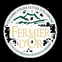 Fermier d'or sommet de l'élevage d'Auvergne à Clermont-Ferrand