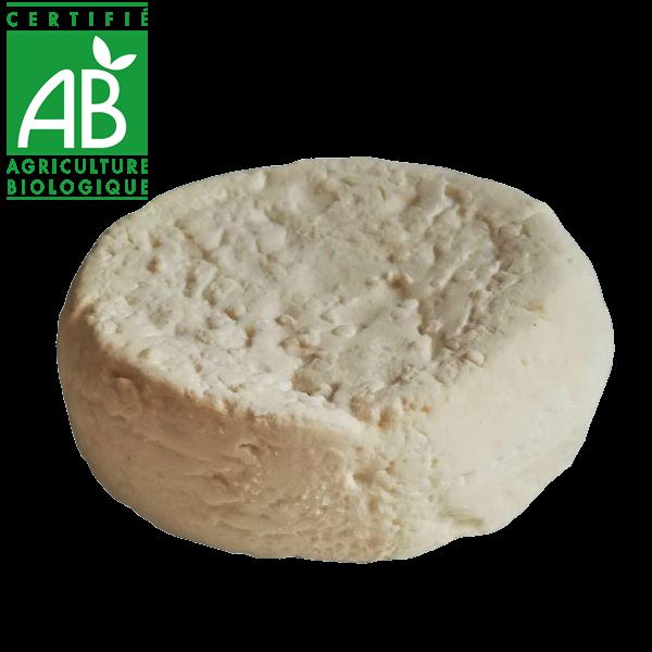fromage de chèvre bio d'Auvergne - palet vente drive fermier