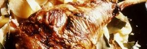 Recette auvergnate du gigot g'agneau à la brayaude