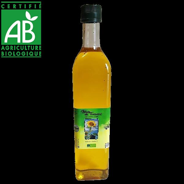 huile de tournesol bio - Vincent Martinant - Auvergne
