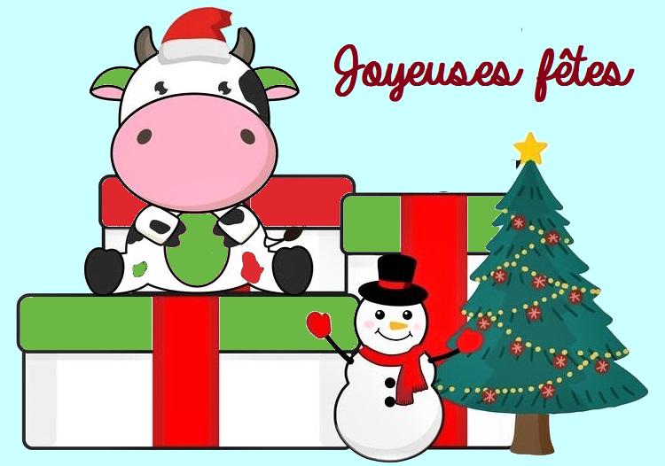 joyeuses fêtes en Auvergne