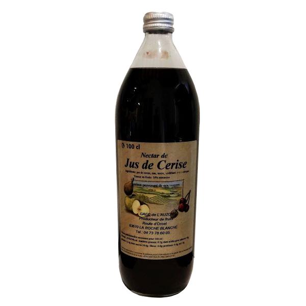 Jus de cerise produit en Auvergne - GAEC de l'Auzon