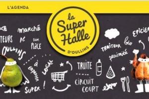 La Super Halle à Lyon : magasin de producteurs, boutique bio et restaurant