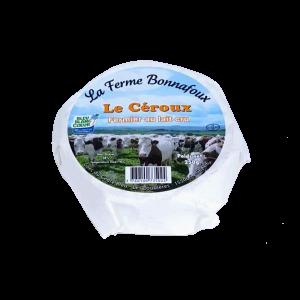 Le Céroux : fromage fermier au lait cru fabriqué par la ferme Bonnafoux