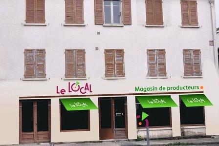 Magasin de producteurs à Ambert : Le local