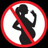 logo zéro alcool pendant la grossesse
