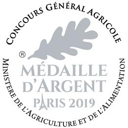 Médaille au concours général agricole Paris 2019
