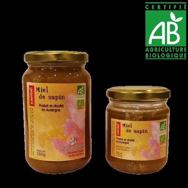 Miel de sapin du Cantal - agriculture biologique vente en drive fermier cantal