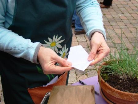 Comment faire des enveloppes pour échanger les graines