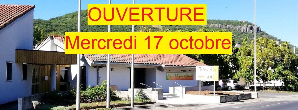 Ouverture du magasin de producteurs à Massiac - Cantal