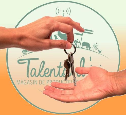 Ouverture Magasin de producteurs et d'artisans Talents d'Ici