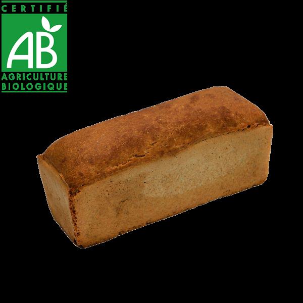 Pain bio au levain et farine de petit épeautre fabriqué par La Mie Chamalou - Auvergne