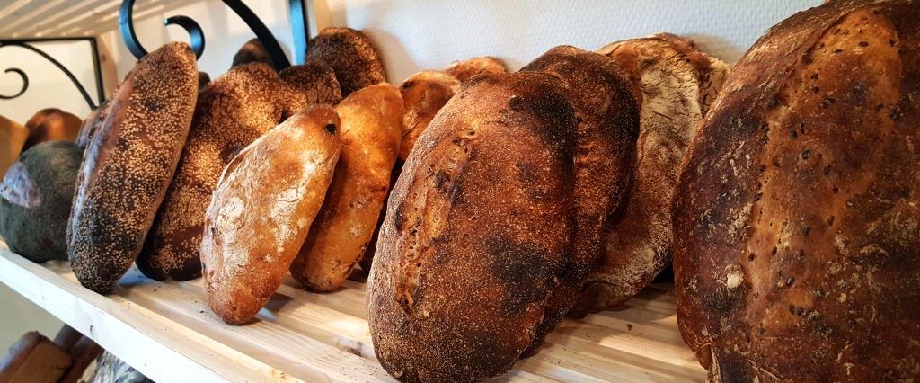 pains bio de La Mie Chamalou dans le Cantal