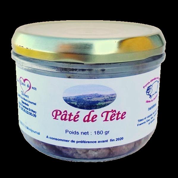 Pâté de tête en verrine du GAEC du Mont Journal Cantal