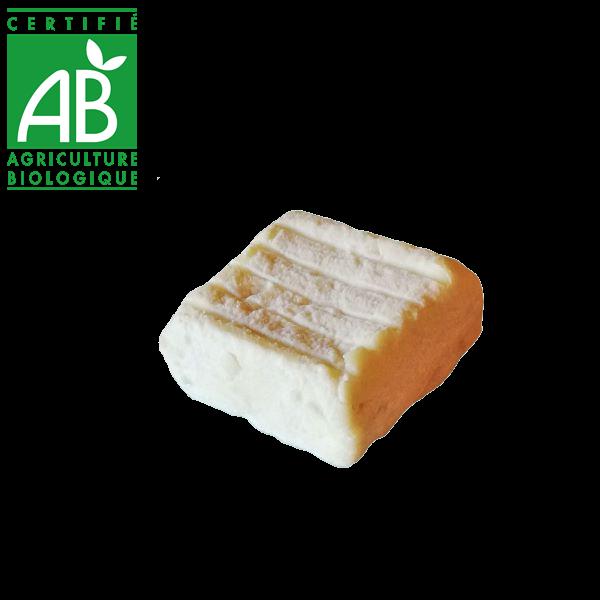 fromage de brebis bio d'Auvergne - carré drive fermier