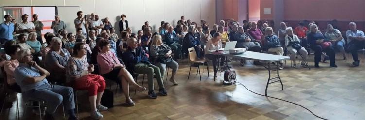 réunion magasin de producteurs à Massiac Cantal
